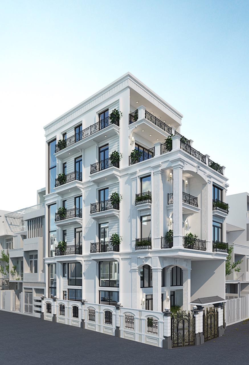 Nhà phố đường Nguyễn Thái Học